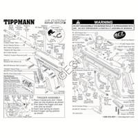 Tippmann 98 Custom RT ACT Gun Diagram