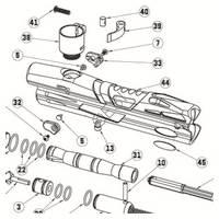 Empire JT USA ER3 Gun Diagram