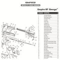 Empire BT Omega 2012 Gun Diagram
