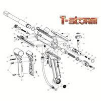 Brass Eagle T-Storm Gun Diagram