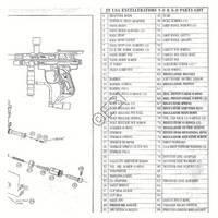 JT USA Excellerator 5.0 Gun Diagram