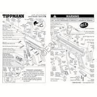 Tippmann 98 Custom E-Grip ACT Gun Diagram