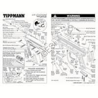 Tippmann 98 Custom Gun - Non-ACT V080606 - Push Sear Diagram