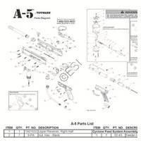 Tippmann A-5 Basic 2011 Gun Diagram