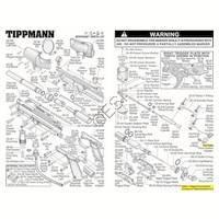 Tippmann A-5 RT  Gun V2 Body V090409 Diagram