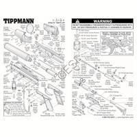 Tippmann A-5 Stealth V2 Body Gun Diagram