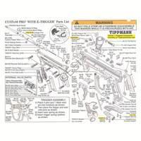 Tippmann 98 Custom Pro E-Grip Gun Diagram