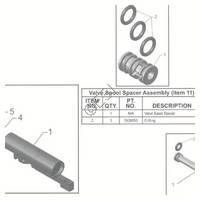 Tippmann X7 Phenom Gun Assembly  V3 Diagram