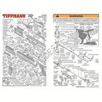Tippmann X7 E-GRIP Gun 071126 Diagram