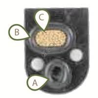 #Fig 22e, B Manifold Front Port Oring [Etha] RPM-6166