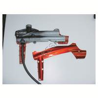 #22 Left Receiver Cover [Cybrid - Black and Red] 135836-000